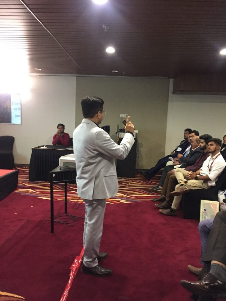 Guest Speaker at BNI Vapi Conclave 2019 IMG_7286