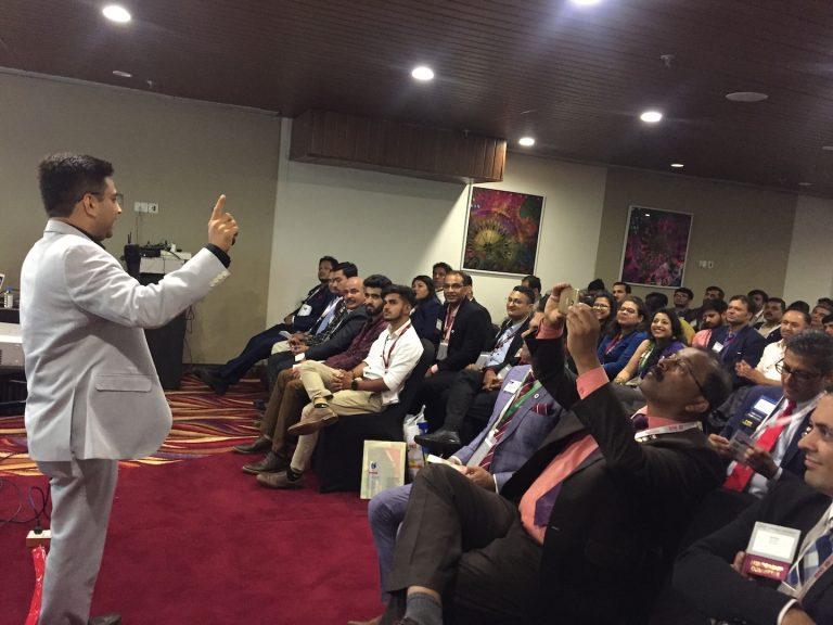 Guest Speaker at BNI Vapi Conclave 2019 IMG_7287