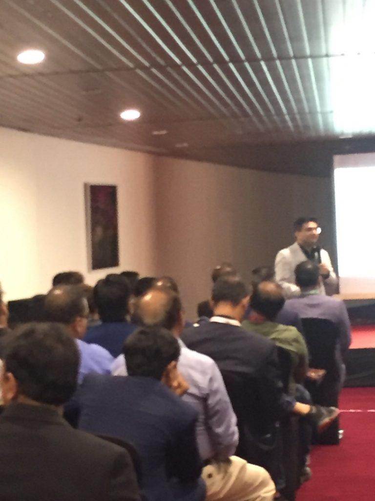 Guest Speaker at BNI Vapi Conclave 2019 IMG_7289