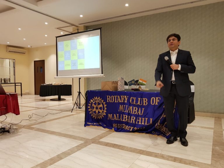Guest Speaker at Various Rotary Clubs BDRR2055