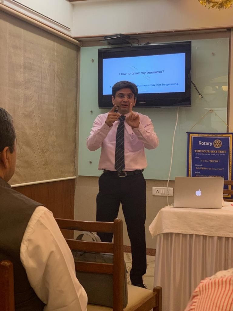 Guest Speaker at Various Rotary Clubs DBED4116
